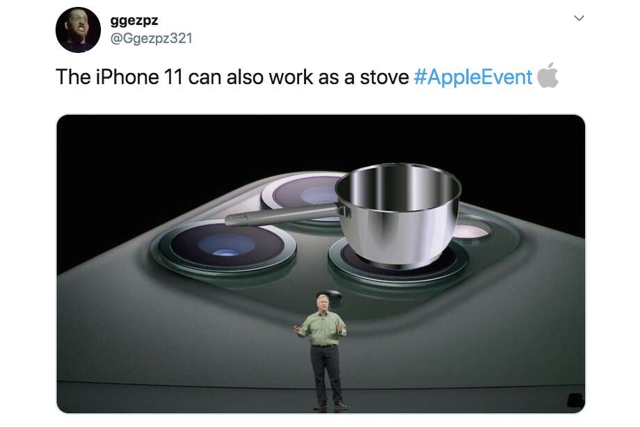 Twitter users react to the design of the new iPhone 11. Photo: Via Twitter