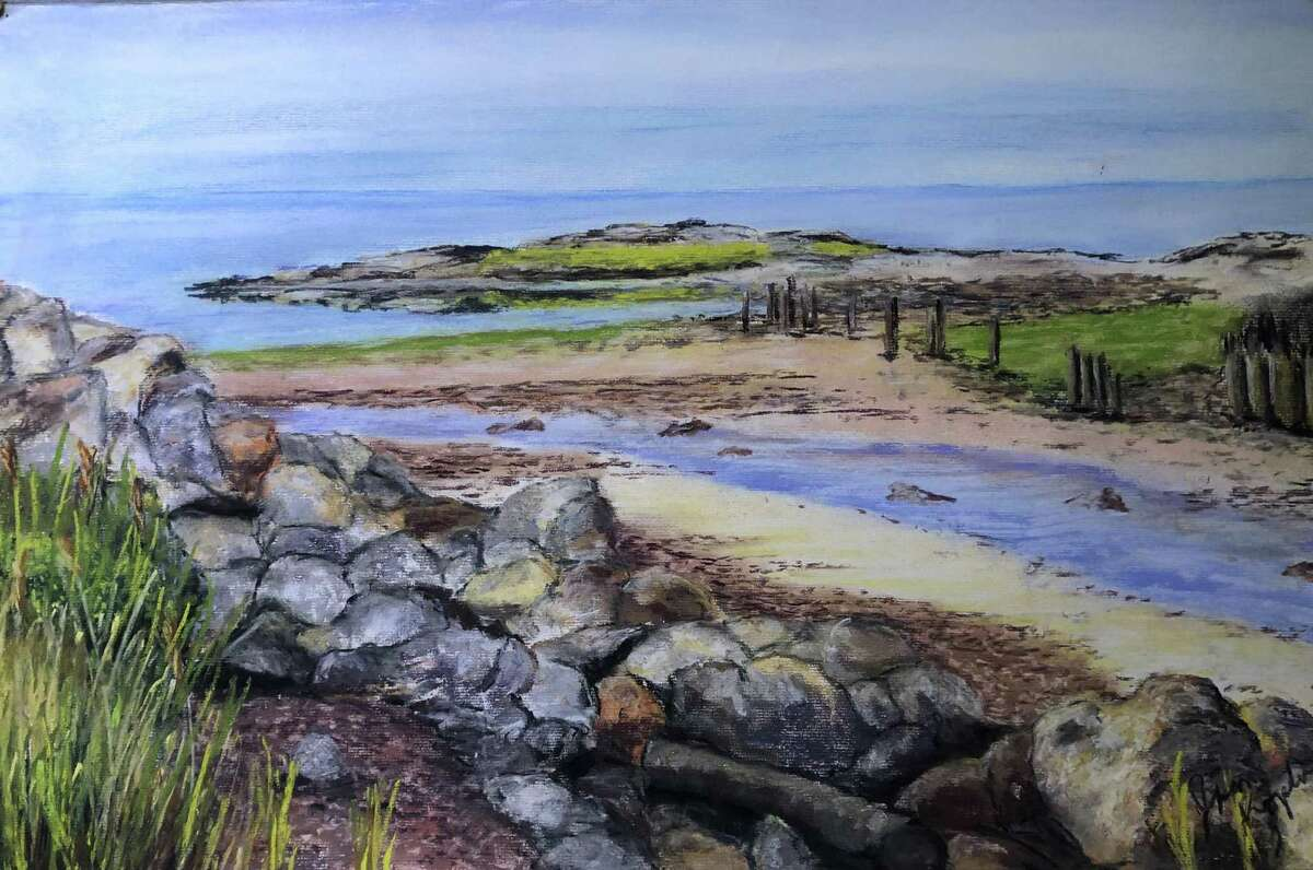 Charlotte Hungerford Hospital's Auxiliary is featuring paintings by Jim Koplar at the hospital in Torrington, through early October.