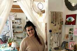 Kelea Mouzon is the new owner of Enchanted Realms in New Milford, a store that sells an assortment of healing, energy and metaphysical products, as well as offers classes and massage therapy and Reiki.