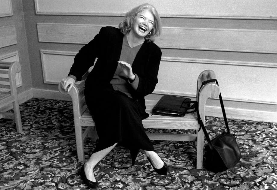 "The late, outspoken journalist Molly Ivins (1944-2007) is profiled in ""Raise Hell: The Life and Times of Molly Ivins."" Photo: Robert Bedell/Magnolia Pictures / © Robert Bedell"