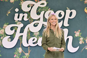 LOS ANGELES, CALIFORNIA - MAY 18: goop CEO Gwyneth Paltrow speaks onstage at In goop Health Summit Los Angeles 2019 at Rolling Greens Nursery on May 18, 2019 in Los Angeles, California. (Photo by Neilson Barnard/Getty Images for goop)