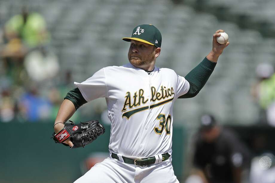Brett Anderson takes the mound for the A's in Houston at 5 p.m. Wednesday (NBCSCA/860). Photo: Ben Margot / Associated Press
