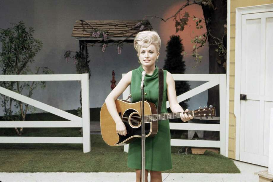 "Dolly Parton, seen here on ""The Porter Wagoner Show,"" brings us one of the series most poignant moments when she relates the story behind one of her signature songs. Photo: Courtesy Of Les Leverett, Grand Ole Opry"