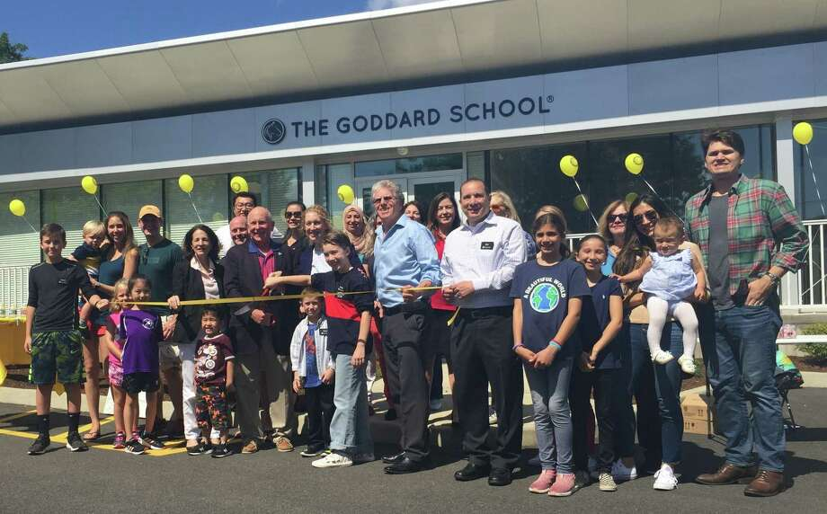 Cutting the ribbon at The Goddard School. Photo: Contributed Photo