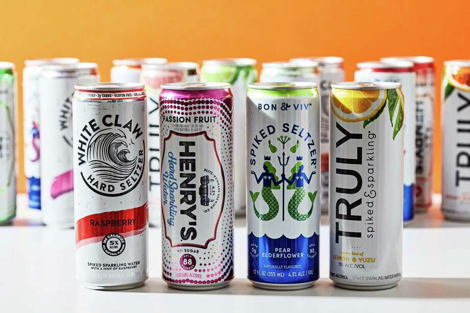 White Claw isn't the only hard seltzer brand to capitalize on consumers' desire for a low-calorie alcoholic beverage. Photo: Photo For The Washington Post By Stacy Zarin Goldberg / For The Washington Post