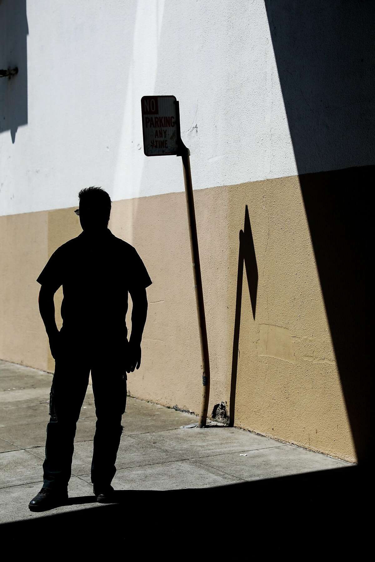 Maury Mossman, the foreman of the Ghost Ship jury, stands for an anonymous portrait in San Francisco, California, on Monday, Sept. 9, 2019.