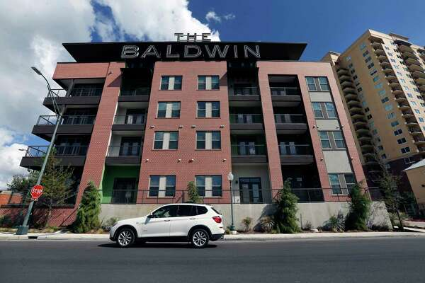 The Baldwin at St. Paul Square was developed with the help of the San Antonio Housing Trust Public Facility Corp., a semi-autonomous city nonprofit. But activists have complained rents are too high for many low-income residents.