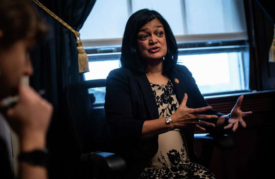 Rep. Pramila Jayapal, D-Wash., is the co-chairwoman of the Congressional Progressive Caucus. Photo: Washington Post Photo By Salwan Georges. / The Washington Post