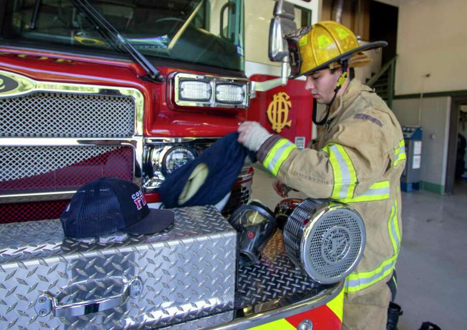 Climbing the ladder: Firefighter joins ranks in brotherhood