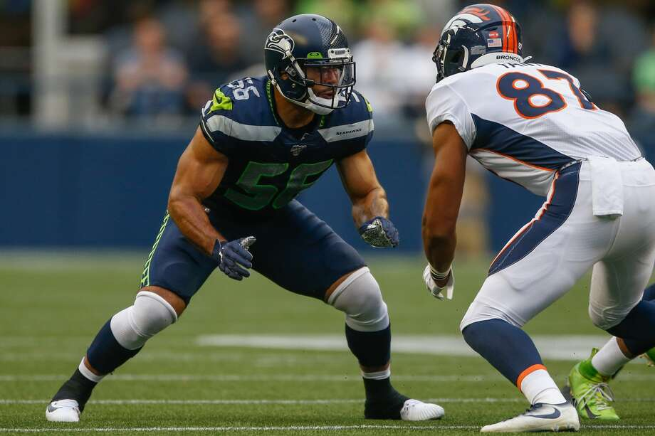 Seahawks linebacker Mychal Kendricks, who scheduled to be sentenced for his insider trading case this week, has had his sentencing postponed for the fifth time, according to an ESPN report. Photo: Otto Greule Jr./Getty Images / 2019 Otto Greule Jr