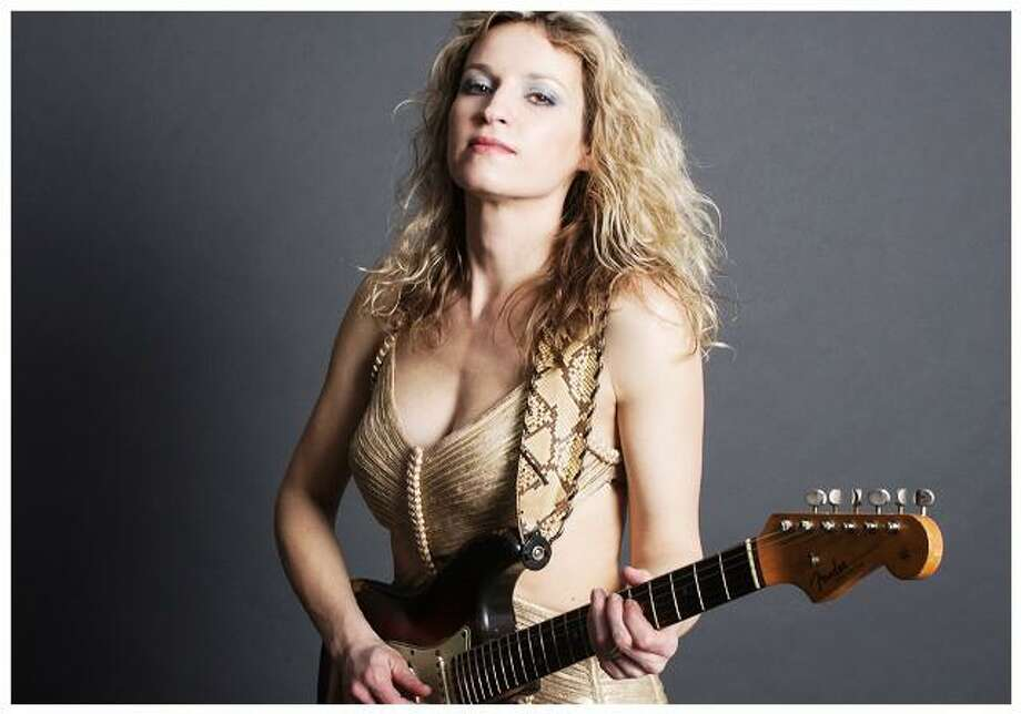 Ana Popovic has several dates in Connecticut this weekend. Photo: Ana Popovic / Contributed Photo