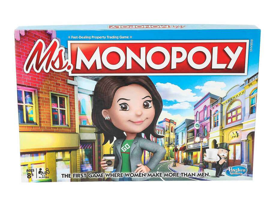 """Ms. Monopoly"" incorporates the gender pay gap into the classic boardgame. MUST CREDIT: Hasbro Photo: Hasbro, Handout"