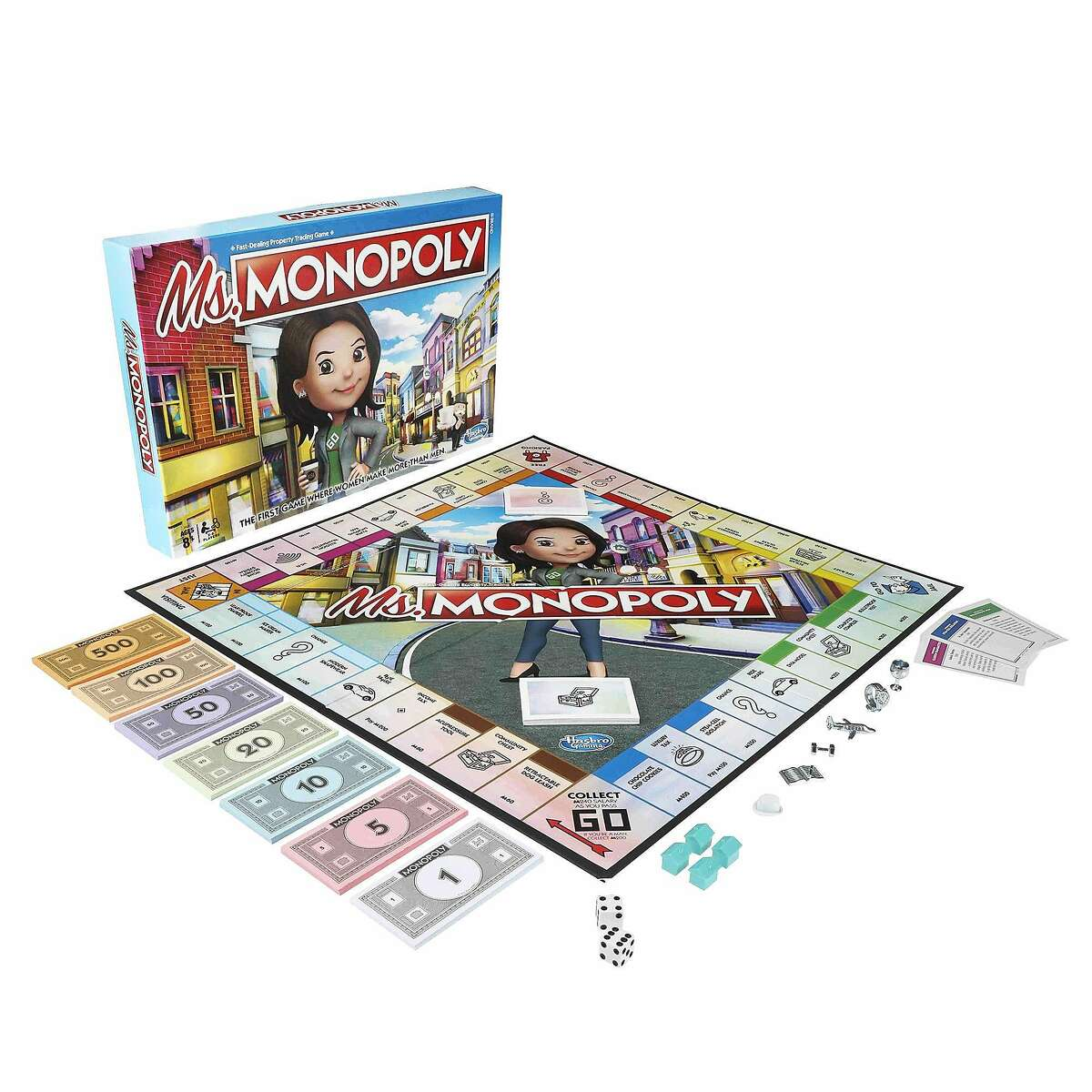 Toymaker Hasbro will launch Ms. Monopoly this month. It's a new take on the classic Monopoly game that celebrates women trailblazers. (Hasbro)
