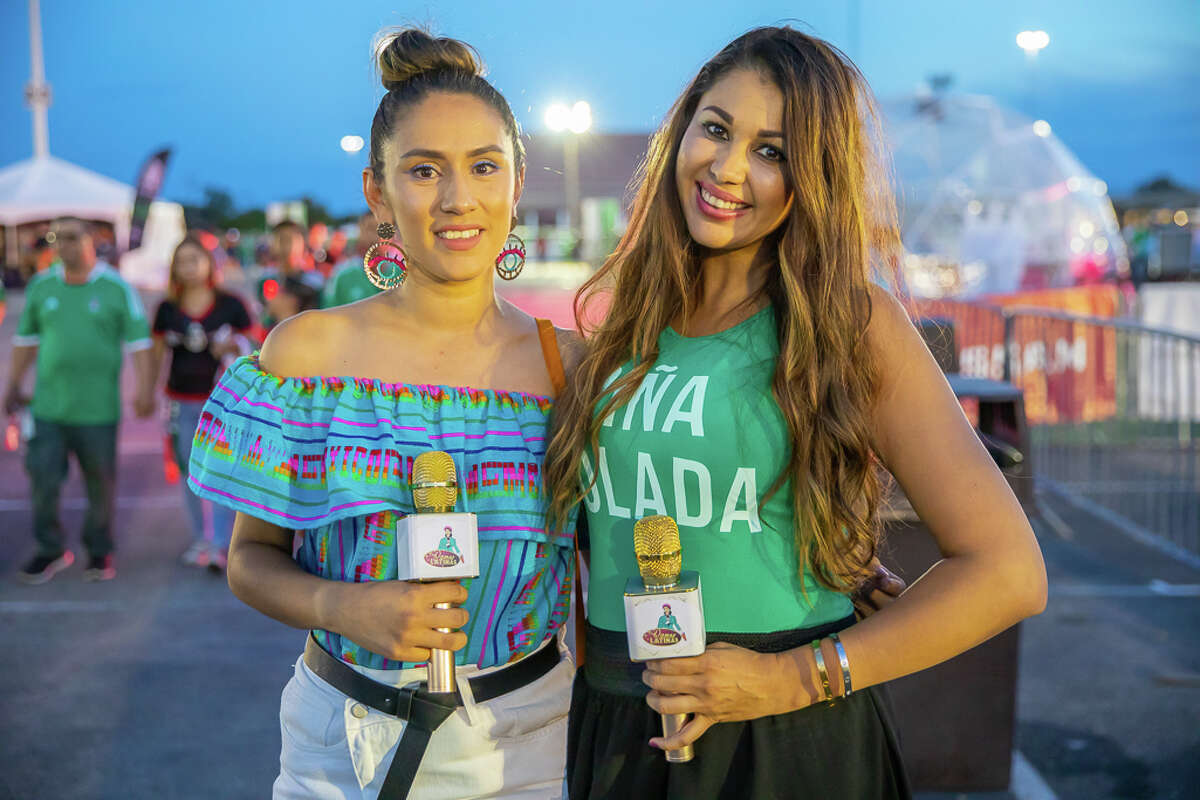 San Antonians came out to see Mexico face Argentina at the Alamodome Tuesday, Sept. 10, 2019.