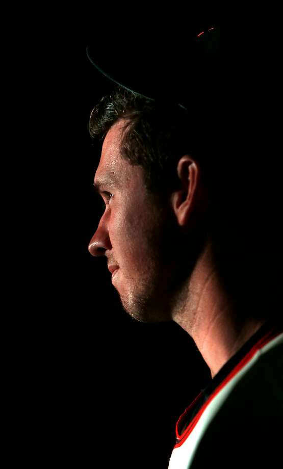 San Francisco Giants' Buster Posey during Photo Day at Spring Training at Scottsdale Stadium in Scottsdale, Arizona, on Friday, February 27, 2015. Photo: Scott Strazzante / The Chronicle