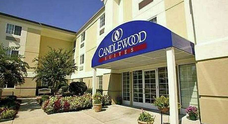 Police were able to take a despondent 53-year-old man who claimed to have a gun in a local hotel room into custody without incident Tuesday afternoon on Sept. 10, 2019. The man was in a room at the Candlewood Suites on Ella Grasso Boulevard in Windsor Locks when police were alerted by the Veterans Administration doctors in Tennessee that a patient working on a project in Connecticut was having a medical issue. Photo: Shay, Jim