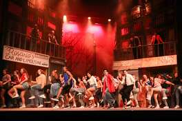 "Dawson High performers present a swirl of music and dance traditions in ""In the Heights,"" which examines change in a New York City barrio."
