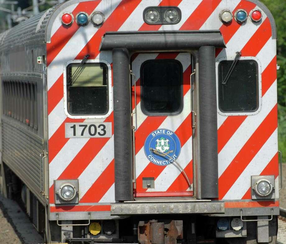 Shoreline East commuter rail Photo: Mara Lavitt / Hearst Connecticut Media File Photo