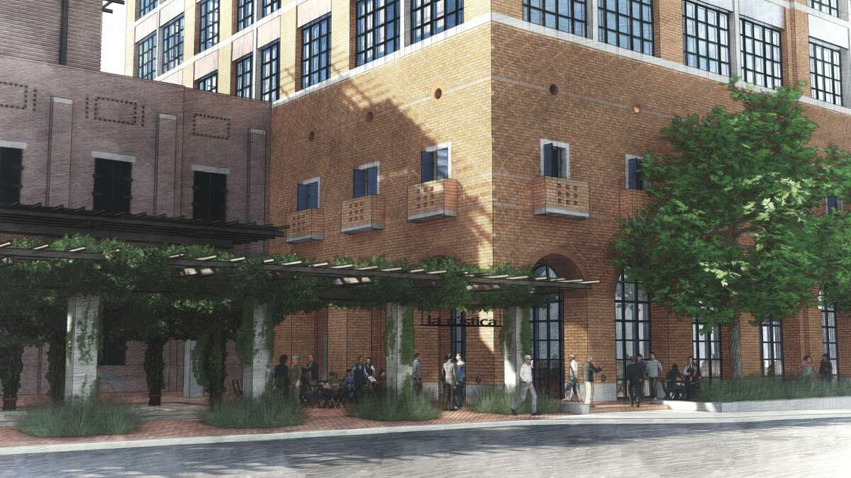 An eight-story building Silver Ventures is constructing near its Pearl development is designed to include a mix of office, retail and restaurant space.