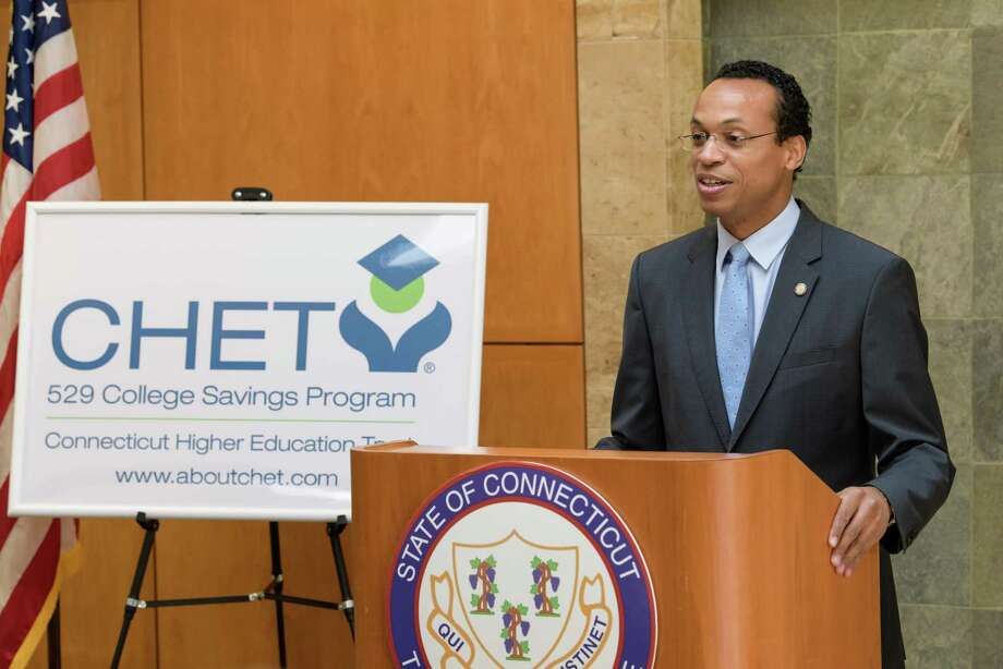 Connecticut State Treasurer and Connecticut Higher Education Trust trustee Shawn T. Wooden kicked off National College Savings Month with a special offer for the month of September. Those who open a CHET 529 college savings account with $500 or more will receive a $50 bonus from CHET. Photo: Contributed Photo