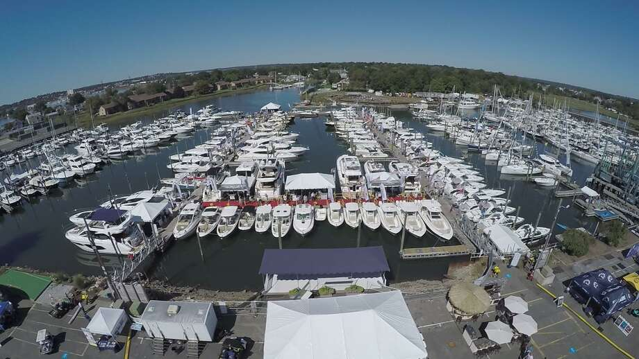 Attendees to the 2019 Progressive  Insurance Norwalk Boat Show at Norwalk Cove Marina September 19-22 will be able to boat hop and shop magnificent motor yachts, tricked-out runabouts, serious center consoles and watersports boats galore. Photo: Contributed Photo