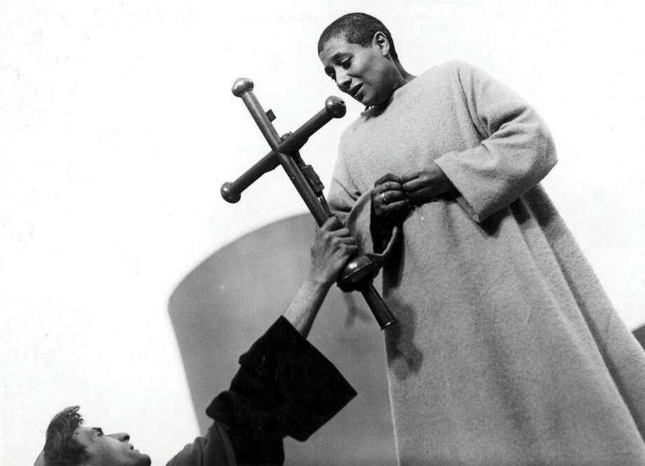"Maria Falconetti in ""The Passion of Joan of Arc."""