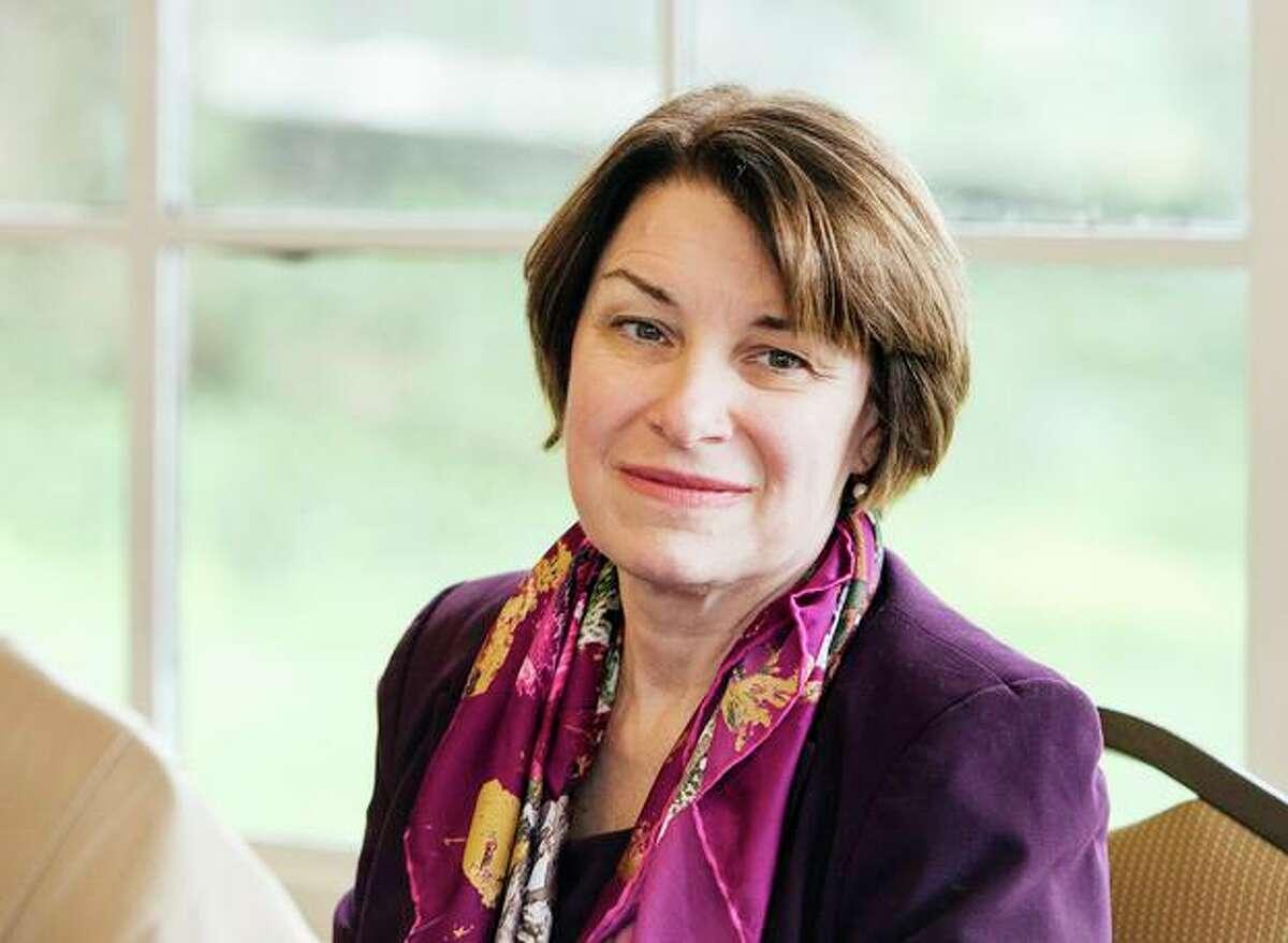 2020 Democratic presidential candidate U.S. Senator Amy Klobuchar (D-MN).