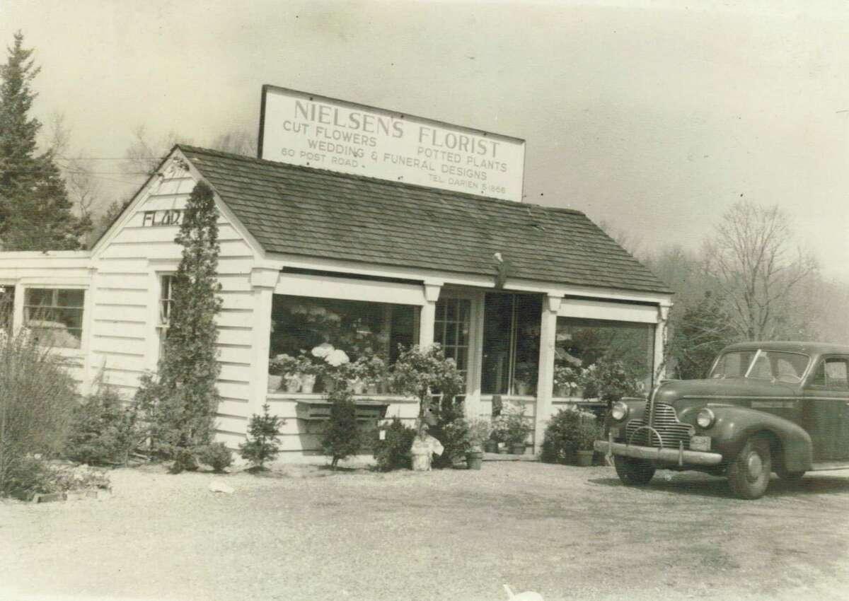 The original Nielsen's Florist, 75 years ago