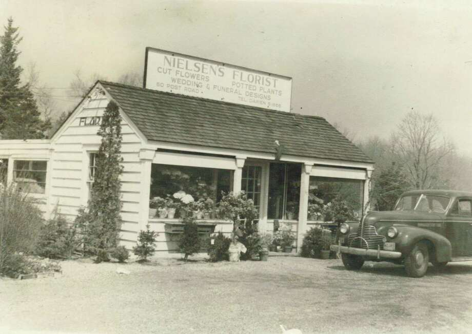 The original Nielsen's Florist, 75 years ago Photo: Contributed Photo / / Connecticut Post