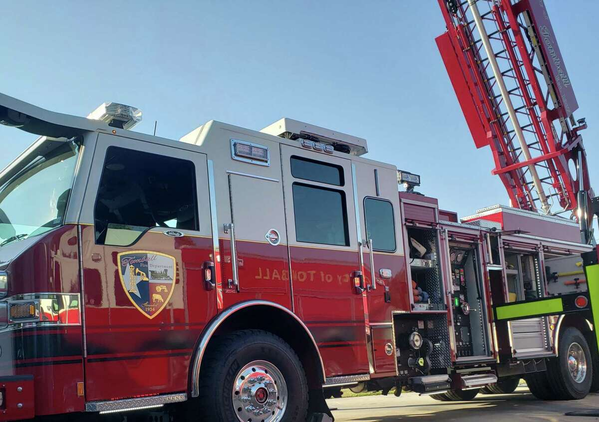 Tomball Fire Department unveiled its new fire truck last year.