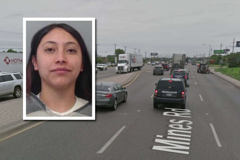 A woman landed behind bars for firing shots in the air, according to Laredo police. Photo: Courtesy