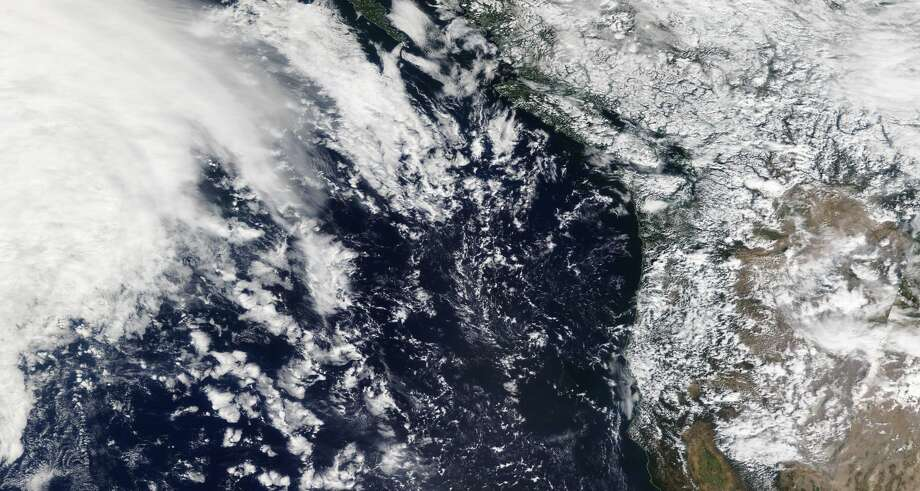 The National Weather Service tweeted this photo of a storm approaching the Pacific Northwest. Photo: NWS