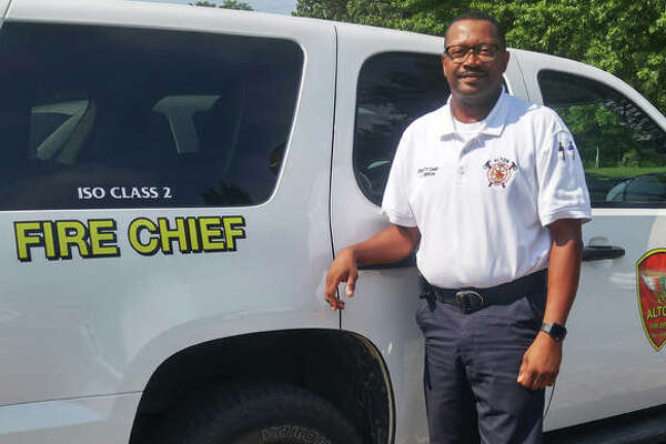 Jesse Jemison on Monday assumed his duties as Alton Fire Chief. With the department for 26 years, Jemison also is the city's first African American fire chief.