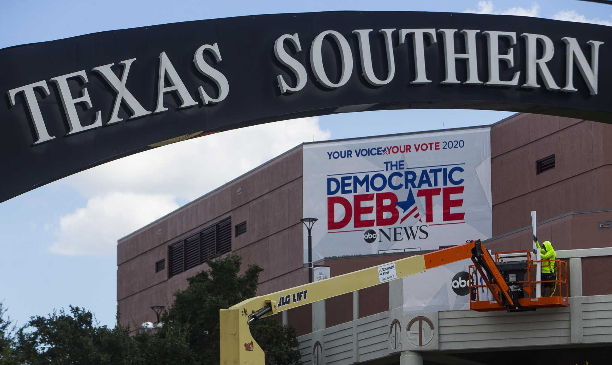 Listen: Historic debate in Houston