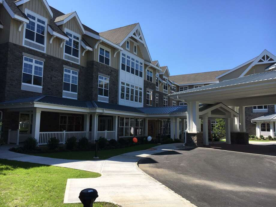 Sunrise Senior Living is just one of several residences for senior citizens in Wilton, which has the largest number of such units of neighboring towns. Photo: Jeannette Ross / Hearst Connecticut Media / Wilton Bulletin