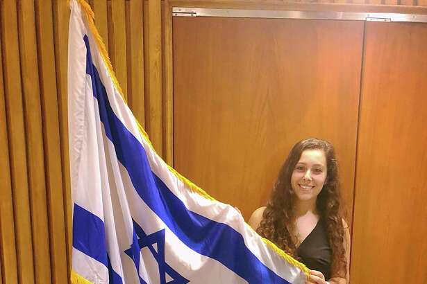 """Dalia Zahger, co-founder of """"Students Supporting Israel"""" at Columbia University, will speak Sunday, Sept. 15, in Ridgefield, Conn. at Congregation Shir Shalom."""