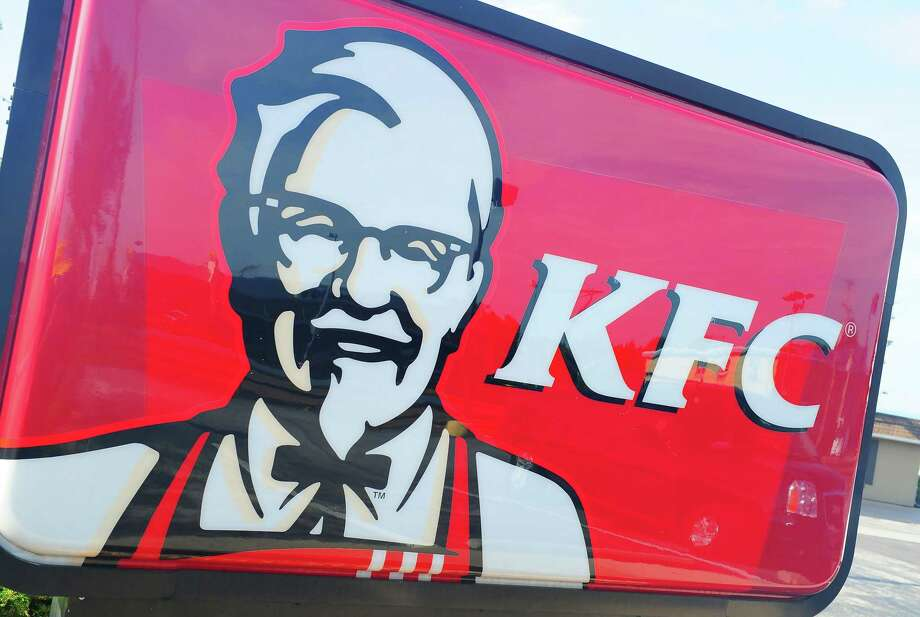 "(FILES) In this file photo taken on September 10, 2016 a Kentucky Fried Chicken restaurant is seen in Gettysburg, Pennsylvania. - KFC will test vegetarian, plant-based chicken for one day in one restaurant in the US state of Georgia, the American fast food giant said on August 26, 2019. Complimentary samples of the new product, which was developed in partnership with Beyond Meat and is dubbed ""Beyond Fried Chicken,"" will be available at the KFC in Smyrna, Georgia on Tuesday, and customers can also buy nuggets and boneless wings made from the non-meat. (Photo by Karen BLEIER / AFP)KAREN BLEIER/AFP/Getty Images Photo: KAREN BLEIER / AFP /Getty Images / AFP or licensors"