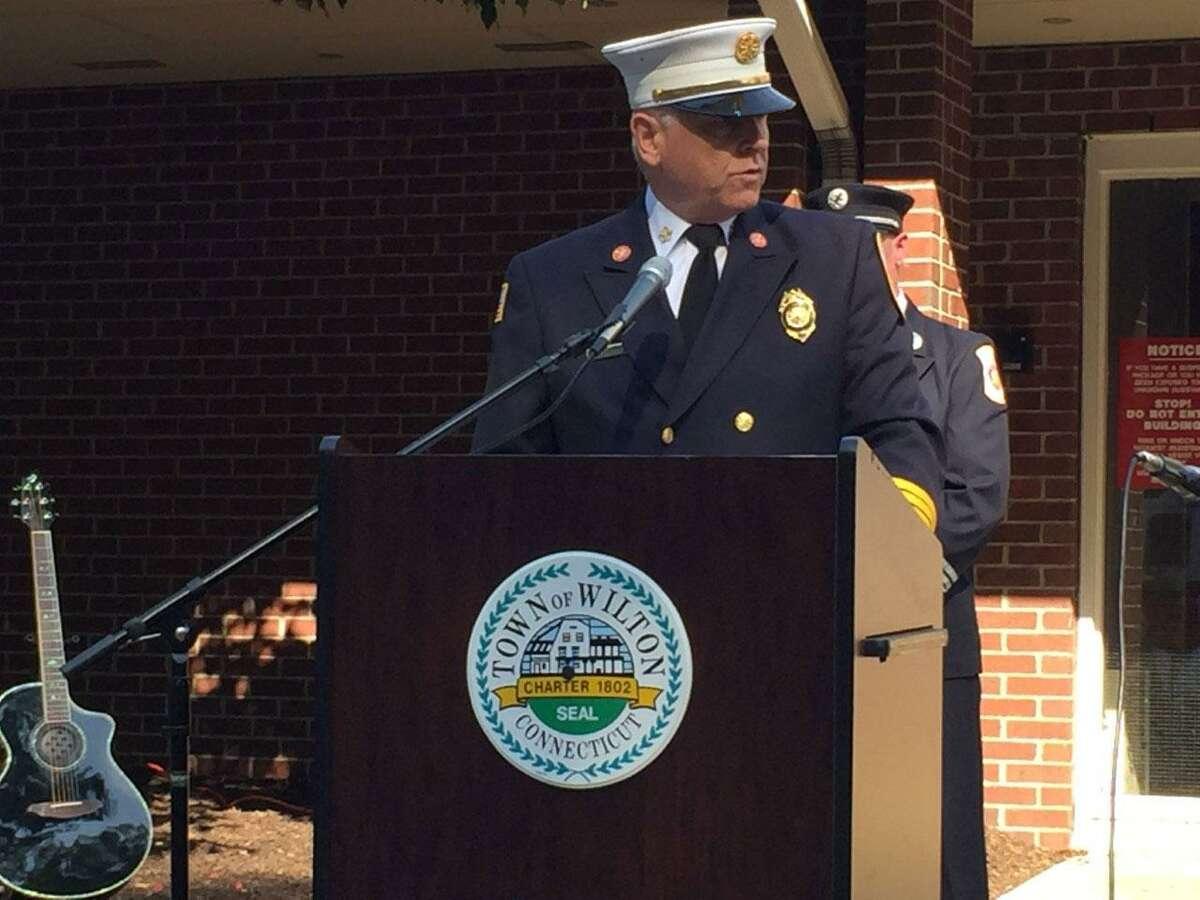 Wilton Fire Chief Geoff Herald said last year,