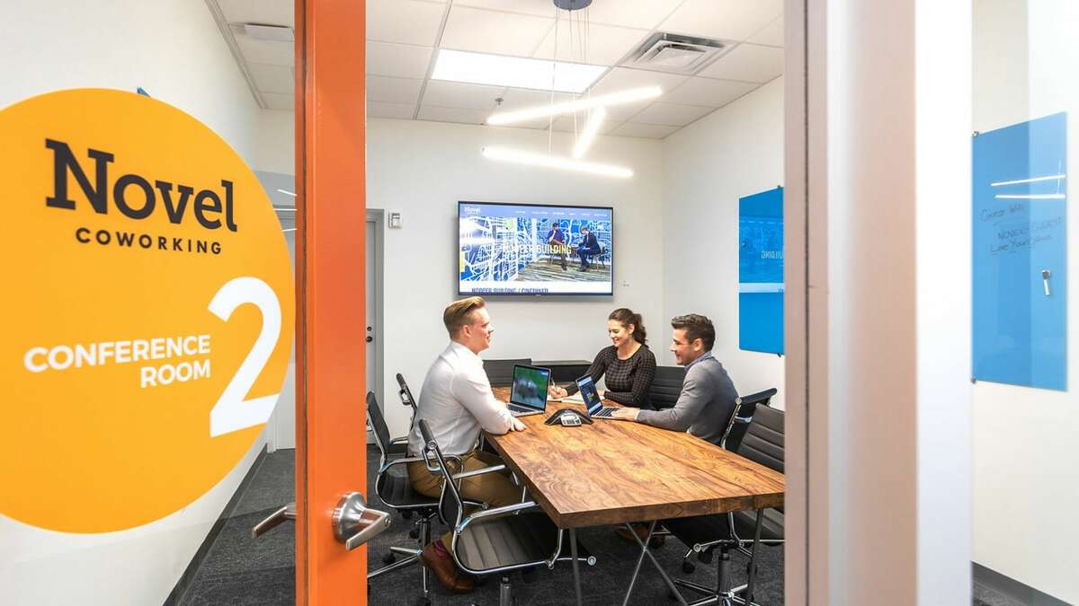 Deskpass subscribers can use Novel Coworking locations in Houston, including one in the Theater District.