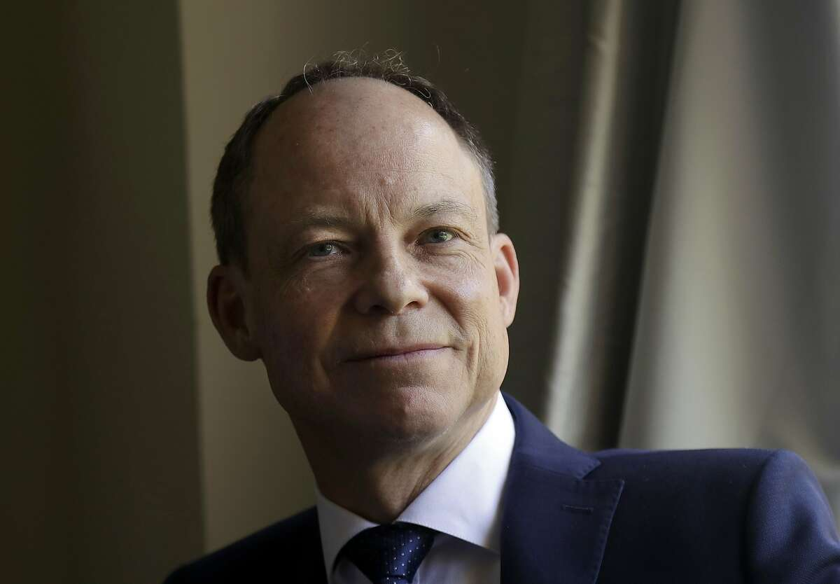 """FILE - In this May 15, 2018 file photo, Judge Aaron Persky poses for photos in Los Altos Hills, Calif. The woman who read a searing statement at the sentencing of the Brock Turner, the college swimmer who sexually assaulted her at Stanford University, causing a public outcry that led to Persky, the judge in the case, being recalled, has revealed her identity. For years, Chanel Miller was known in legal proceedings as """"Emily Doe."""" She identifies herself in a memoir, """"Know My Name,"""" scheduled to be released Sept. 24. The Associated Press does not usually identify victims of sex crimes, but Miller has identified herself. (AP Photo/Jeff Chiu, File)"""