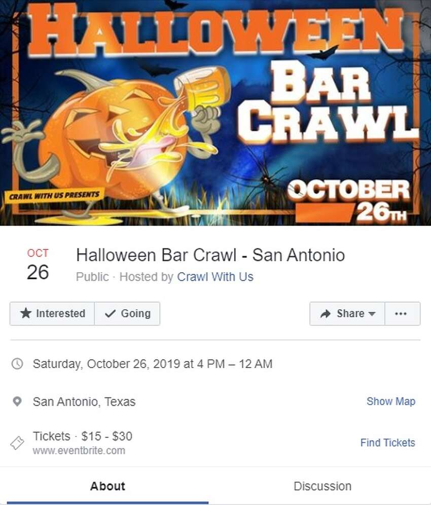 Crawl With Us is hosting a