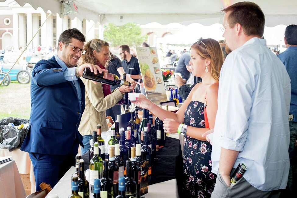The grand tasting at SPAC's Saratoga Wine and Food Festival. (Photo via SPAC.)