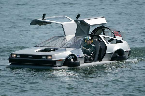 SF's DeLorean hovercraft sells for $44,088 at auction