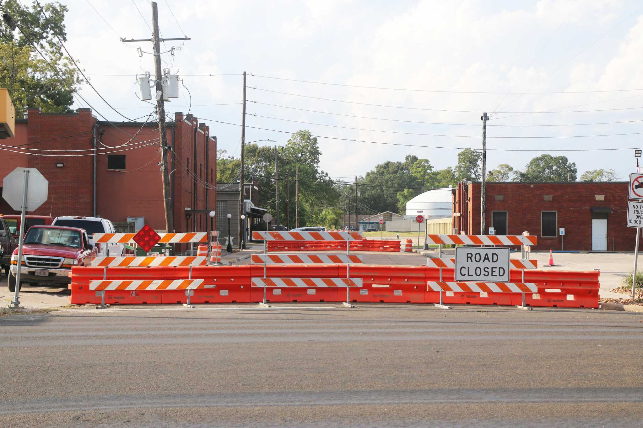North Church Street permanently closed at US 90 in Dayton