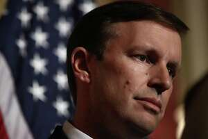 Sen. Chris Murphy (D-CT) speaks during a press conference held by Democratic senators calling for action on gun violence June 16, 2016 at the U.S. Capitol in Washington, DC. (Win McNamee/Getty Images/TNS)