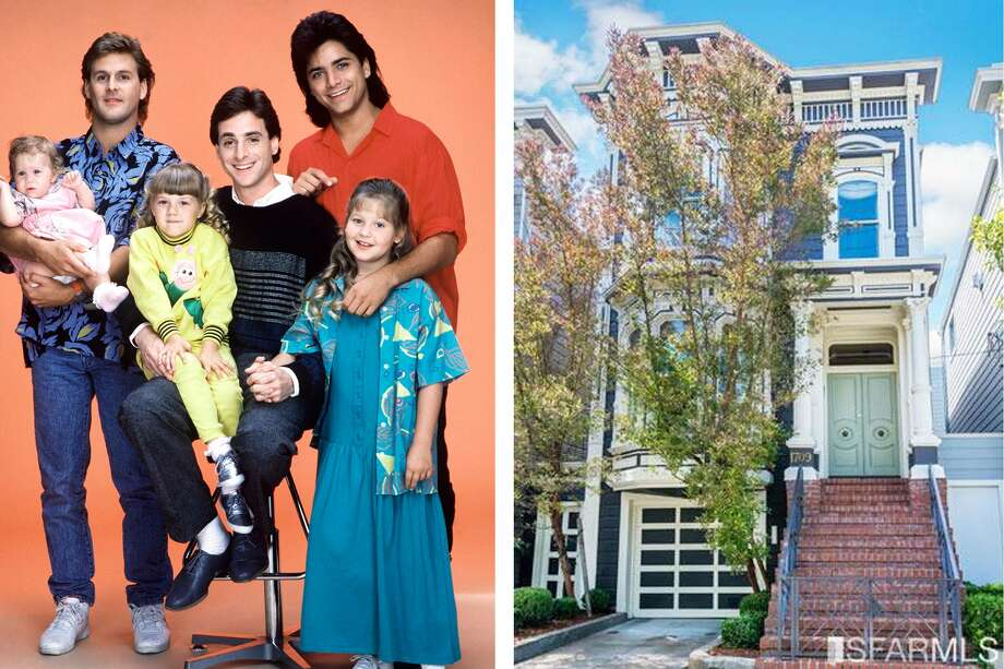 "The ""Full House"" home, located on 1709 Broderick St., has hit the market. Photo: Getty / Courtesy Vanguard Properties"