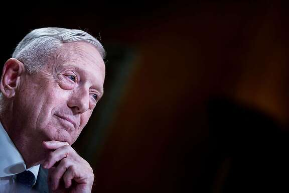 "(FILES) In this file photo taken on May 9, 2018 former US Secretary of Defense James Mattis listens during a hearing of the Senate Appropriations Committee Subcommittee on the Department of Defense on Capitol Hill in Washington, DC. - Former US Defense Secretary James Mattis warned August 28, 2019 that the United States cannot survive without its allies, days after the G7 summit showed President Donald Trump out of step with America's key partners.""An oft-spoken admonition in the Marines is this: When youre going to a gunfight, bring all your friends with guns,"" Mattis wrote in the Wall Street Journal, in his first public comments since quitting in a policy dispute with Trump last December.""A leader must display strategic acumen that incorporates respect for those nations that have stood with us when trouble loomed,"" Mattis wrote. (Photo by Brendan Smialowski / AFP)BRENDAN SMIALOWSKI/AFP/Getty Images"