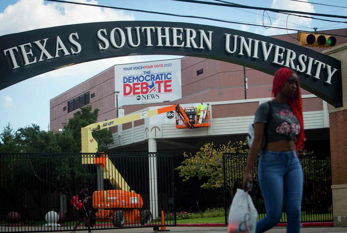 Texas Southern University in Houston will host a Democratic presidential candidate debate on Sept. 12, 2019.