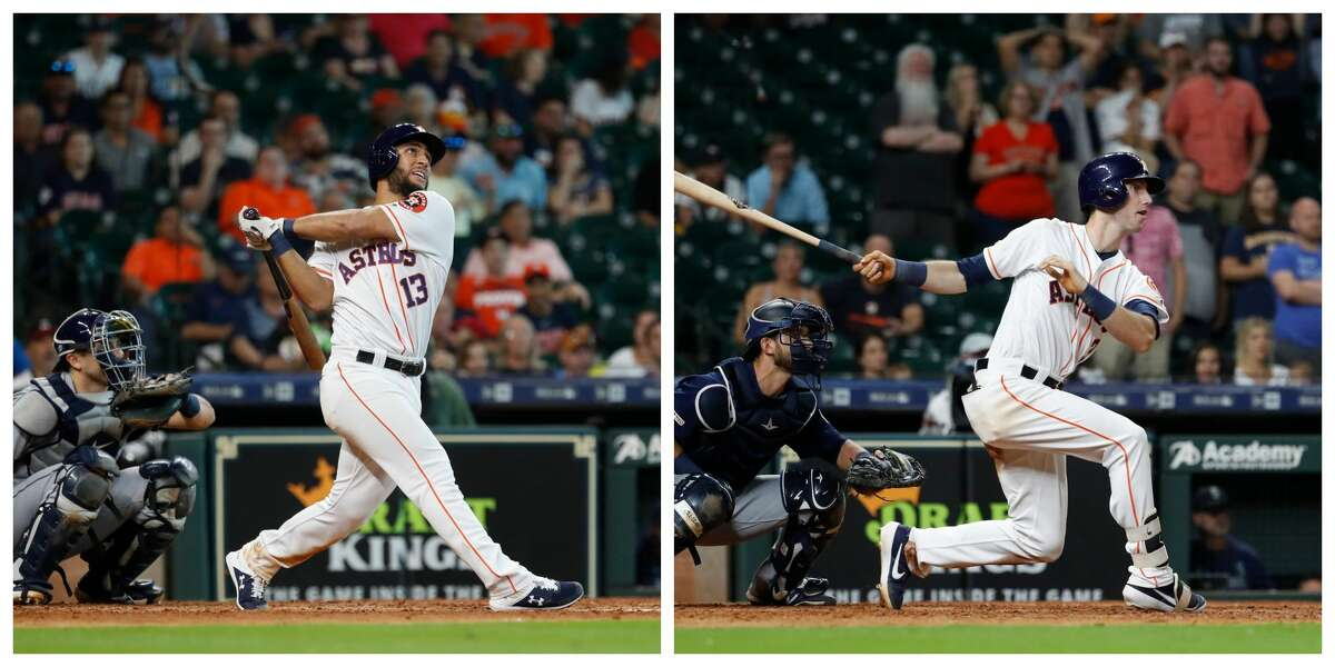 PHOTOS: Houston Astros 2019 fan giveaways  A battle is brewing between Abraham Toro and Kyle Tucker for the final spot on Houston's American League Division Series roster.  >>>See the remaining Astros fan freebies at Minute Maid Park this season ...