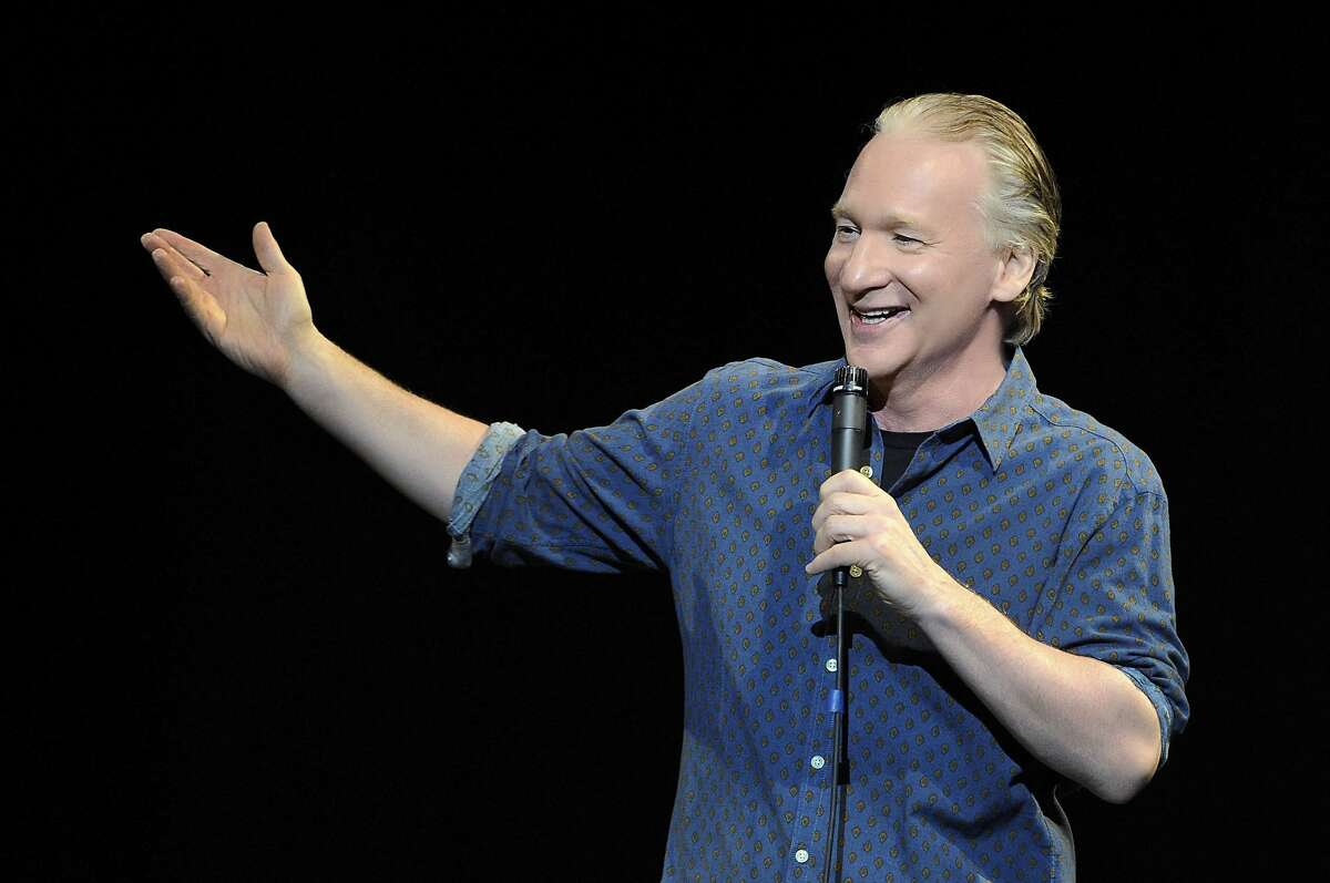 FILE - Bill Maher at The Pearl concert theater at the Palms Casino Resort in Las Vegas.